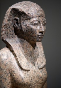 stone statue of Queen Hatshepsut of Egypt (reigned 1479–1458 BC ...