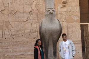 Horus on Edfu temple